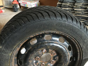 Good year Eagle ultra crop winter tires