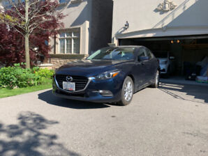 Selling 2018 Mazda3 GS Auto with only 7k km. Price neogtiable