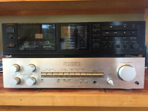 Luxman Amplified and Tape Player