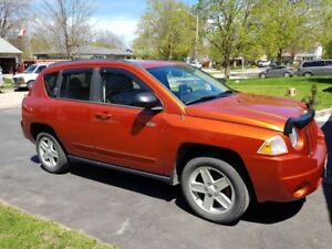JEEP COMPASS 2010, MANUAL +Winter tires rim+  Certified