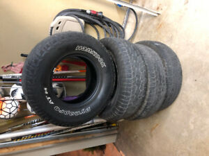 Used Hankook Dynapro ATM 26 $200.00
