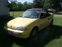 Four 1991 Pontiac Firefly Convertibles For Sale