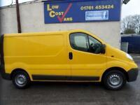 Vauxhall Vivaro 2900 Cdti P/V YELLOW TAILGATE AIR CON