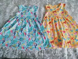 Jojo maman bebe 12-18months dresses