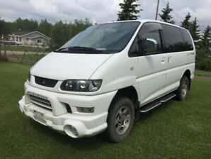 Mitsubishi Delica Spacegear 4 x 4  No rust, Excellent mechanical
