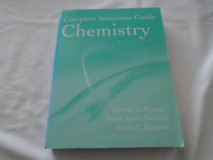 COMPLETE  SOLUTIONS GUIDE CHEMISTRY FIFTH EDITION