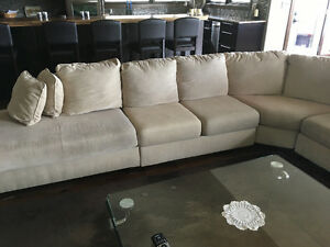 Large Sectional couch - seats 10 people