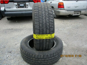 Pair of Hercules Roadtour 225/60/16 summer tires for sale