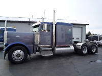1999 Peterbilt 379 FLAT TOP @ ERG in AYR, ONT.
