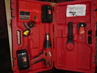 Milwaukee 18v hammer drill & and corded reciprocating saw