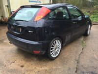 Breaking ford focus st170