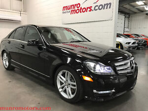 2013 Mercedes-Benz C 300 4MATIC Navigation Sunroof Luxury Packag