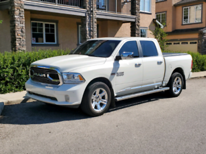 2016 pearl white Ram Limited only 63k