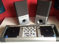 Homemix - beginners' mixing desk with 2x CD players, built in mixer and speakers