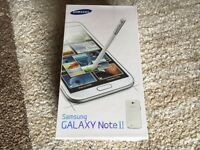 Samsung galaxy note 2 16gb brand new