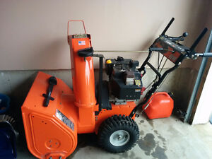 Ariens 824E gas snow blower MINT condition!