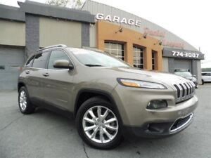 Jeep Cherokee 4X2 LIMITED V6 3.2L, GPS, CUIR ET PLUS, CLEANTITLE