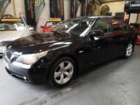 BMW 5 SERIES 523I SE 3.0 Black Auto Petrol, 2006 (06)