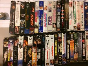 57 VHS movies - make an offer!