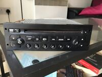 Peugeot 206 CD player and stereo
