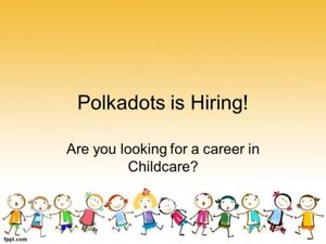 Polkadots & Bow Ties is hiring! Part-time positions available
