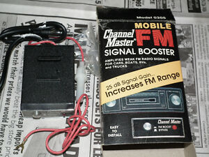 RADIO  SIGNAL  BOOSTER  NEW CHANNEL MASTER .