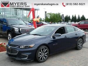 2018 Chevrolet Malibu LT  A nicely-appointed car with a roomy in