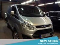 2013 FORD TRANSIT CUSTOM 2.2 TDCi 155ps Low Roof 270 L1 FWD SWB Limited Van