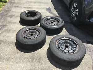 Four All-Season Michelin Tires