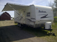 Salem LE Travel Trailer with Bunk Beds and Two Slide Outs