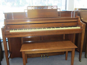 Five pianos for sale $1000 each with warranty, delivery & tunin