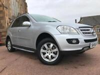 *3MTHS WARRANTY*2006(56)MERCEDES ML280 3.0 CDI SE AUTO WITH FULL LEATHER*