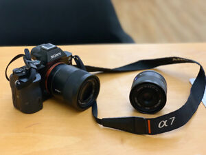 Sony A7R with Zeiss 55mm f1.8 and the Zeiss 35mm f2.8