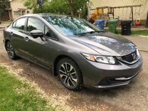 2015 Honda Civic EX - rebuilt status
