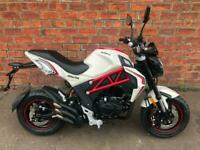 SAVE £200 NEW Euro4 Sinnis Akuma 125 own this bike for only £8.81 a week