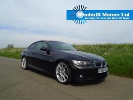 2009/09 BMW 3 SERIES 3.0 330D M SPORT HIGHLINE 2DR BLACK + HUGE SPEC + MUST SEE