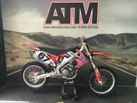 HONDA CRF250 2012 MOTOCROSS BIKE, NEW SPROCKS, SEAT, DECALS, PEGS ETC (ATMX)