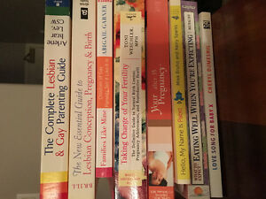 LGBT Pregnancy/Child Rearing Books