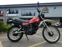 1982 Yamaha XT550 4229 Miles Excellent Condition Recent MOT Classic Trails Bike