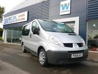 2009 Renault TRAFIC SL27 DCI 115 SWB WINDOW VAN *NO VAT* Manual Combi Van