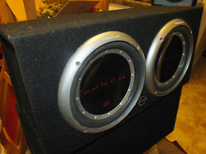 """Rockford Fosgate Punch P1 2 10"""" SUBS"""