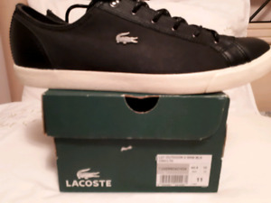 Lacoste Men's Shoes size 11 Black