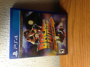 Back to the future video game ps4