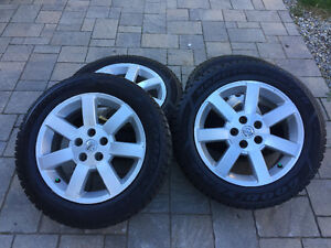 Kit d'hiver mags Nissan Maxima Goodyear 225/55r17