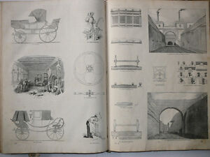 Antique Book Knight's Pictorial Gallery of Arts Useful Arts 1850 London Ontario image 7