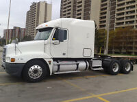 Freightliner Truck from owner operator E-tested
