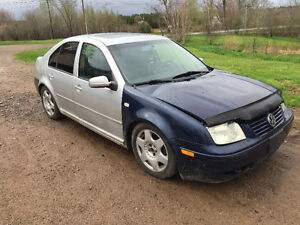 2000 Volkswagen Jetta Tdi would like to trade for motorbike