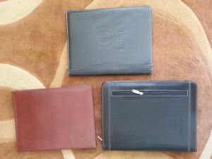 Padfolio's for holding resume's and presentation copies