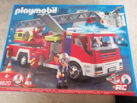 Playmobil 4820 fire engine ladder unit city life emergency services