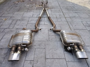 B7 Audi RS4 OE cat-back  exhaust system, unresonated A4 S4